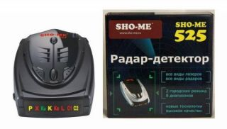 радар детектор Sho-Me 525